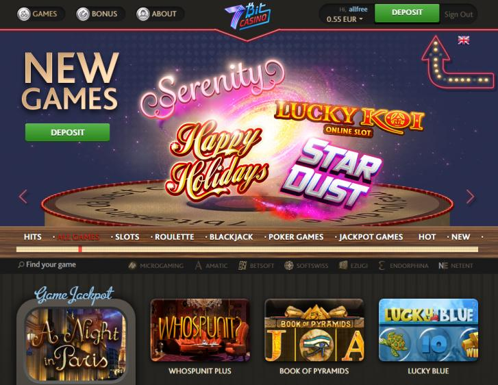7Bit review on Free Slot Reviews