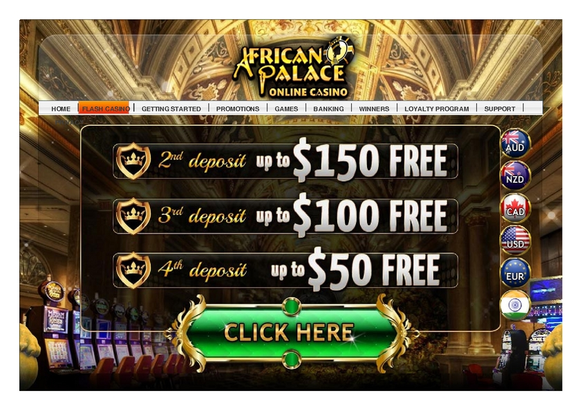 African Palace review on Free Slot Reviews