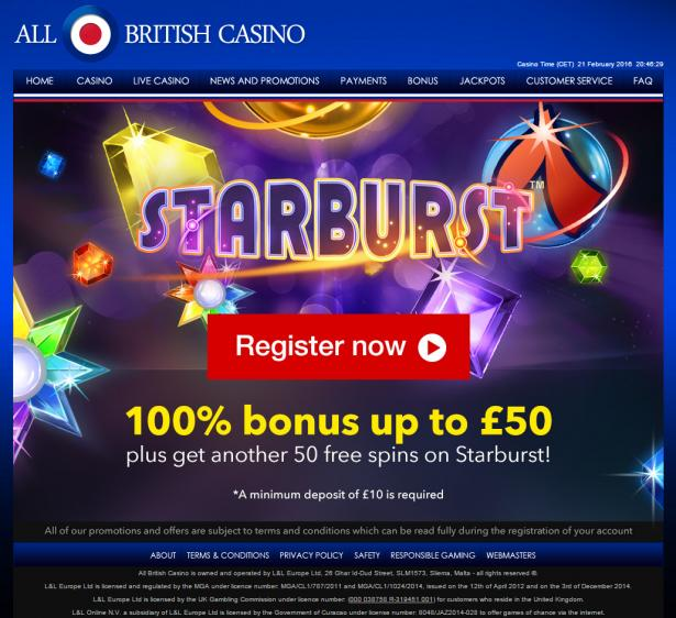 All British review on Free Slot Reviews