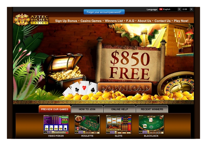 Aztec Ritces review on Free Slot Reviews