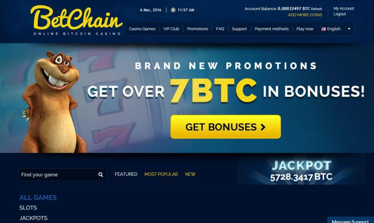 Betchain review on Free Slot Reviews