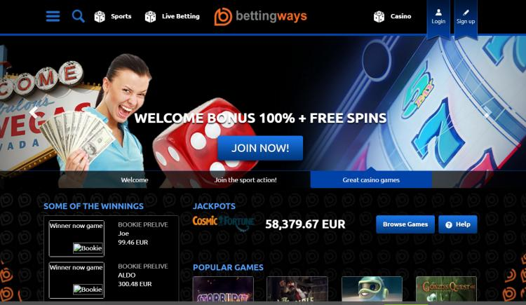 Betting Ways review on Free Slot Reviews
