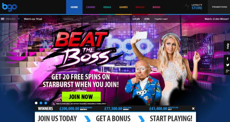 BGO Vegas review on Free Slot Reviews