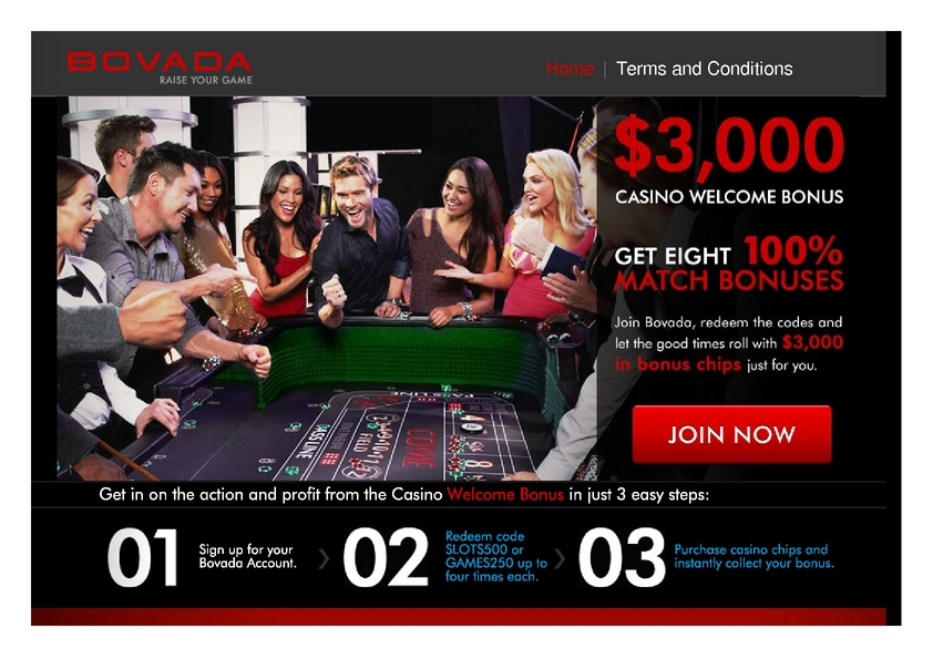Bovada review on Free Slot Reviews
