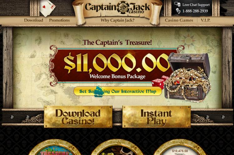 Captain Jacks review on Free Slot Reviews