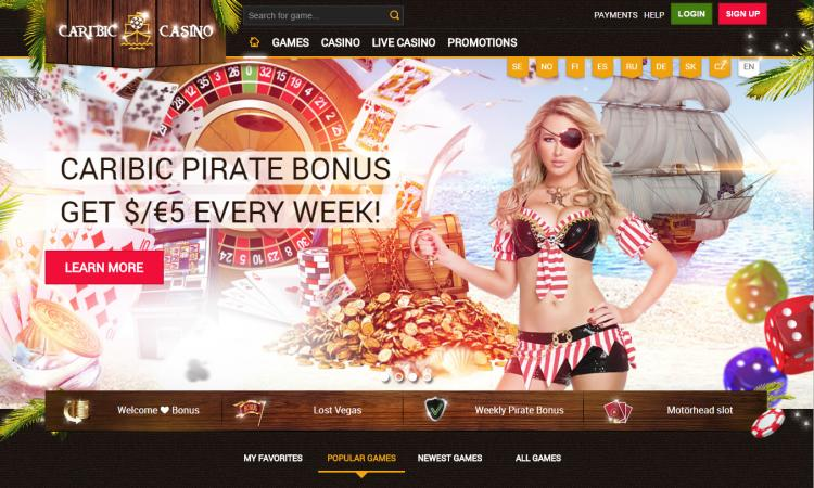 Caribic review on Free Slot Reviews