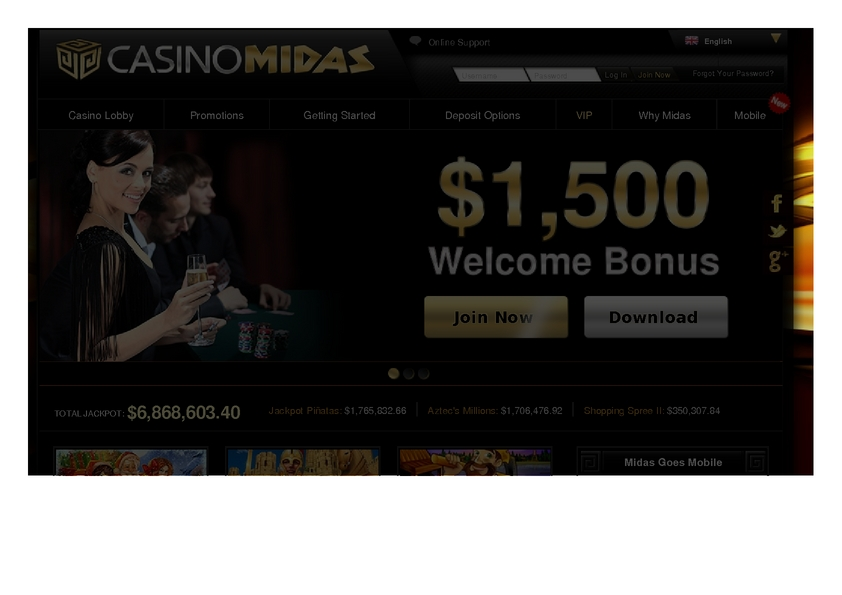 Casino Midas review on Free Slot Reviews