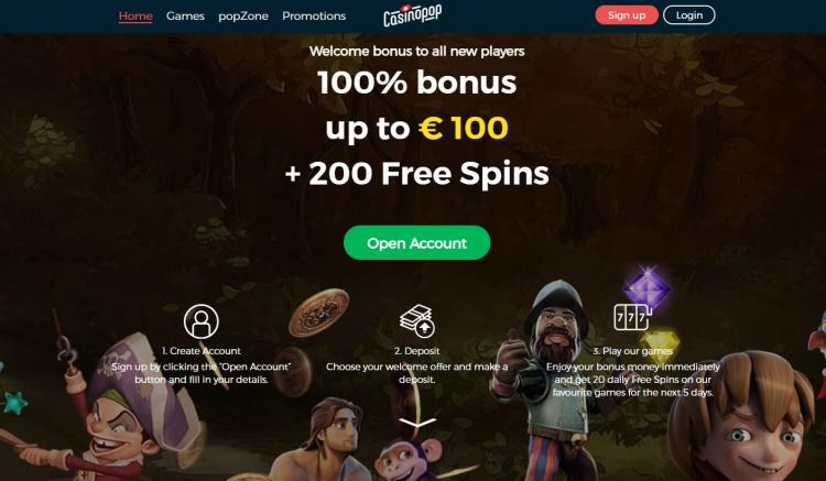 Casino Pop review on Free Slot Reviews