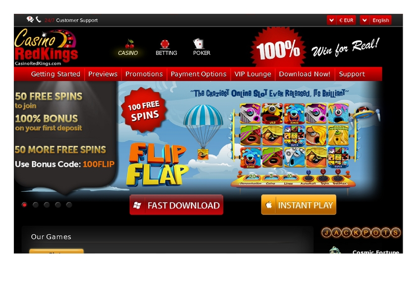 Casino Red Kings review on Free Slot Reviews
