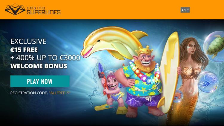 Casino Superlines review on Free Slot Reviews