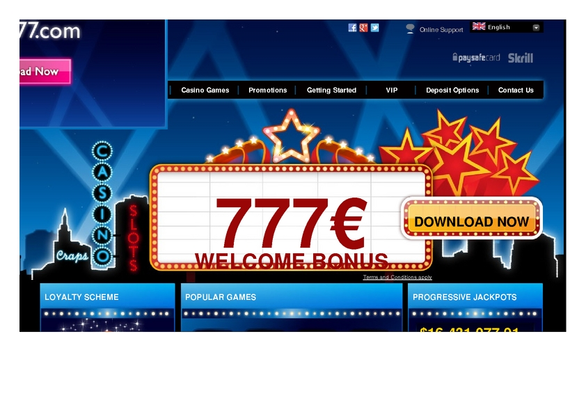 Club 777 review on Free Slot Reviews