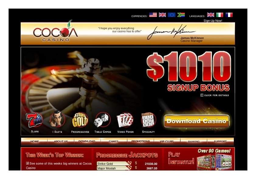 CoCoa review on Free Slot Reviews