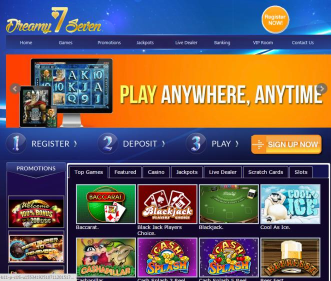Dreamy 7 review on Free Slot Reviews