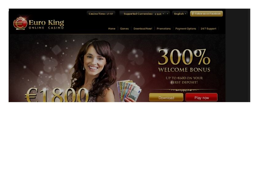 Euro King review on Free Slot Reviews