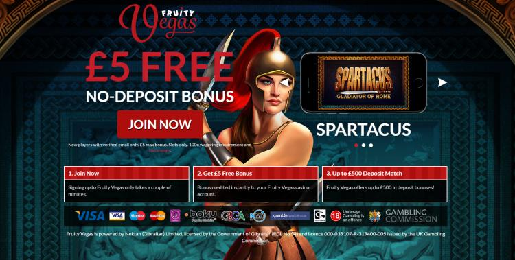 Fruity Vegas review on Free Slot Reviews