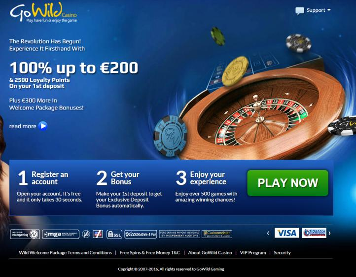 Go Wild review on Free Slot Reviews