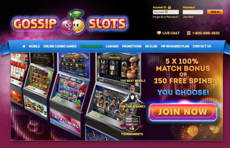 Gossip Slots review on Free Slot Reviews
