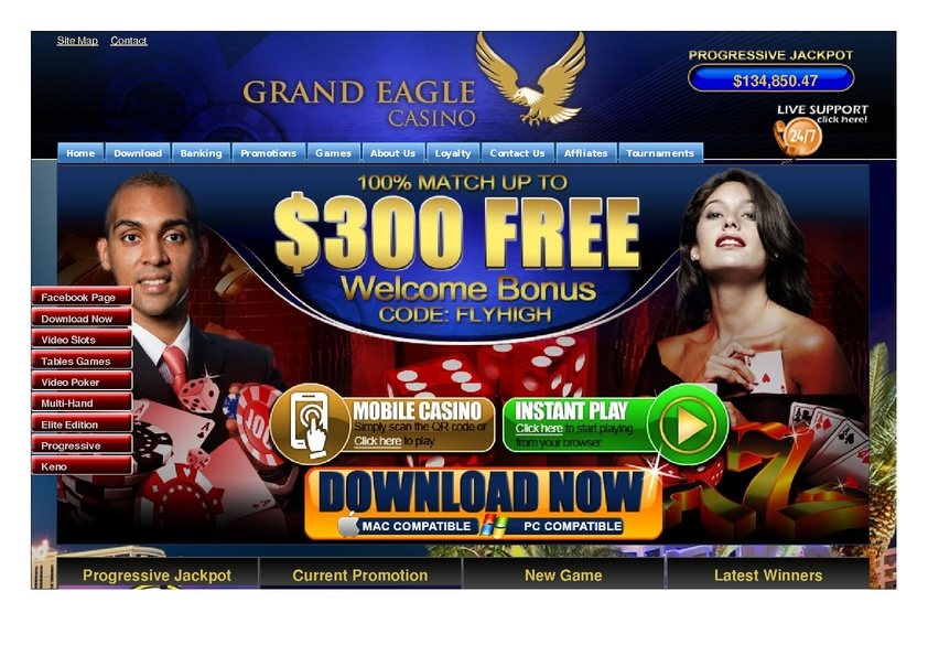 Grand Eagle review on Free Slot Reviews