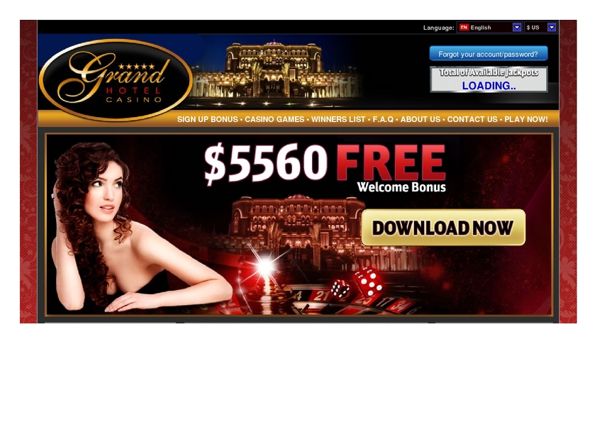 Grand Hotel review on Free Slot Reviews