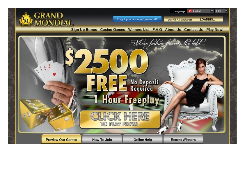 Grand Mondial review on Free Slot Reviews