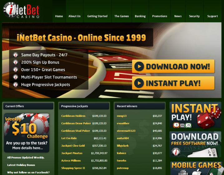 iNET Bet review on Free Slot Reviews
