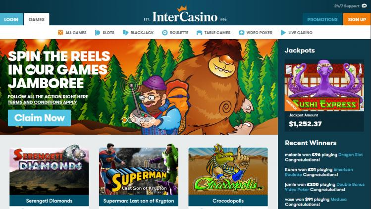 Intercasino review on Free Slot Reviews