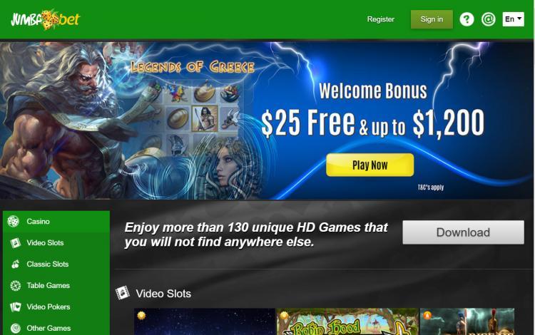 Jumba Bet review on Free Slot Reviews