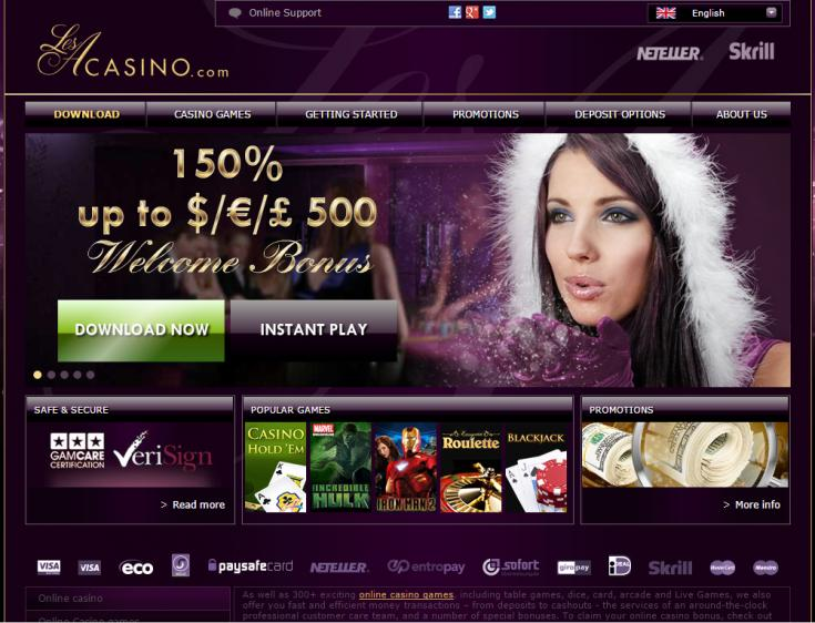 LesA Casino review on Free Slot Reviews