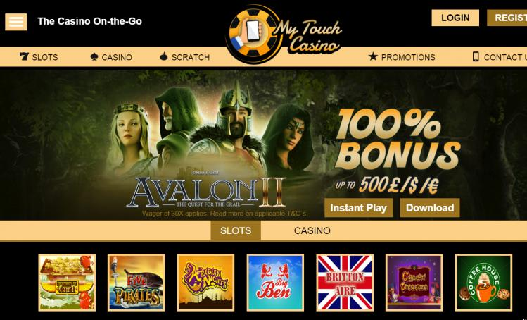 My Touch review on Free Slot Reviews