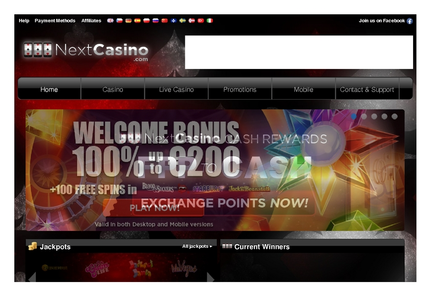 Next Casino review on Free Slot Reviews