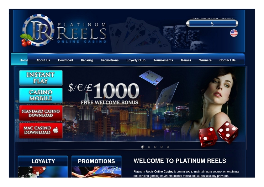 Platinum Reels review on Free Slot Reviews
