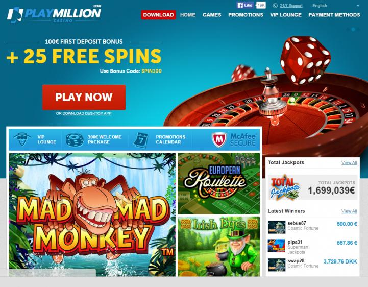Play Million review on Free Slot Reviews