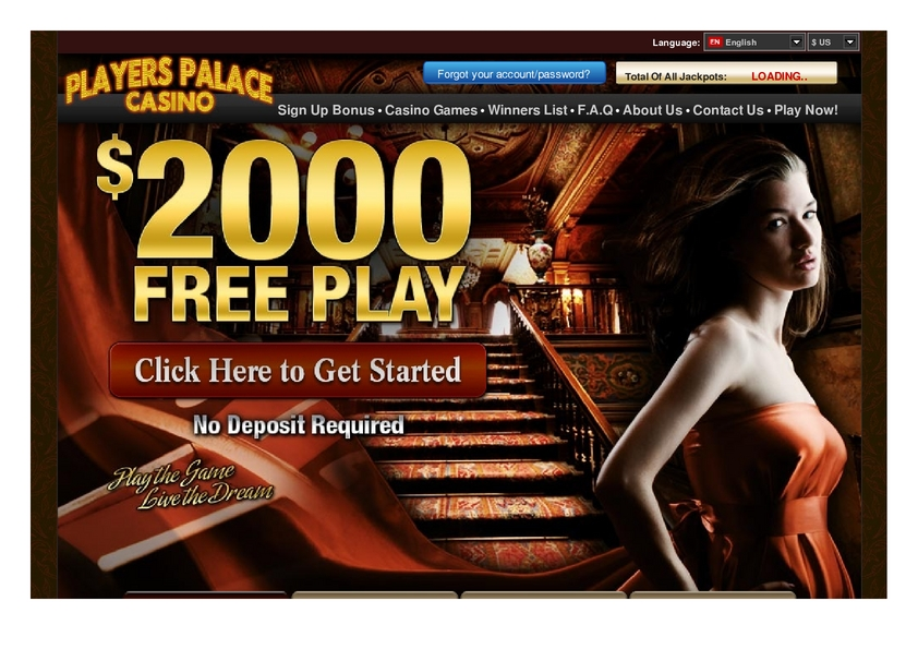 Players Palace review on Free Slot Reviews