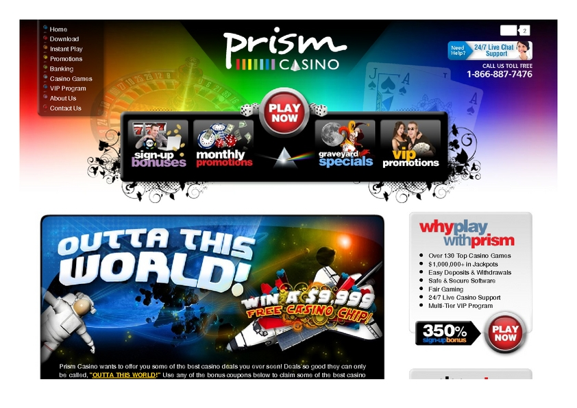 Prism review on Free Slot Reviews