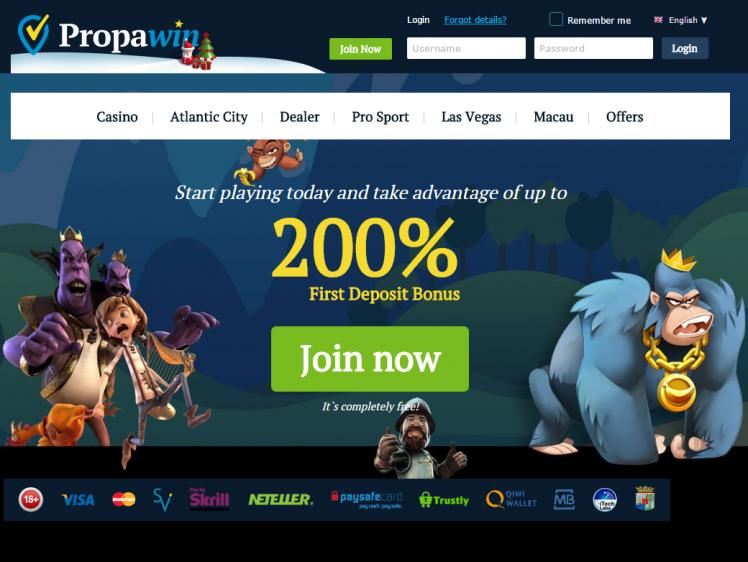 PropaWin review on Free Slot Reviews