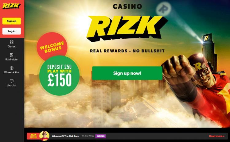 Rizk review on Free Slot Reviews