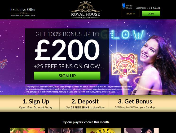 Royal House review on Free Slot Reviews