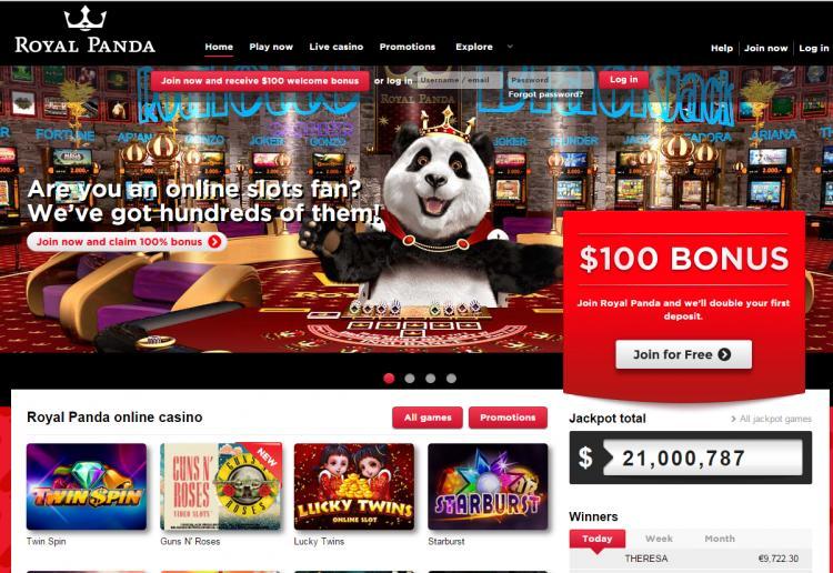 Royal Panda review on Free Slot Reviews