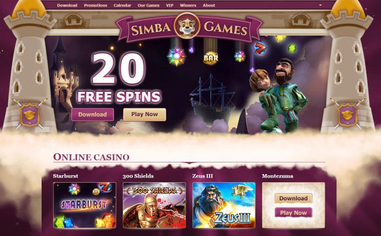 Simba Games review on Free Slot Reviews