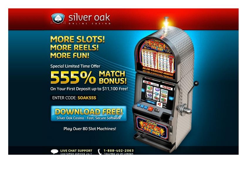 Siver Oak review on Free Slot Reviews