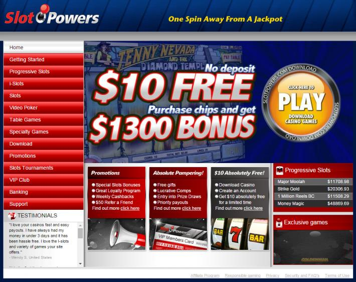 Slot Power review on Free Slot Reviews