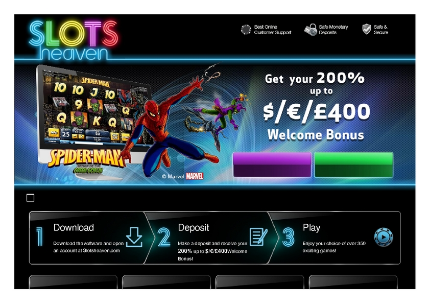 Slots Heaven review on Free Slot Reviews