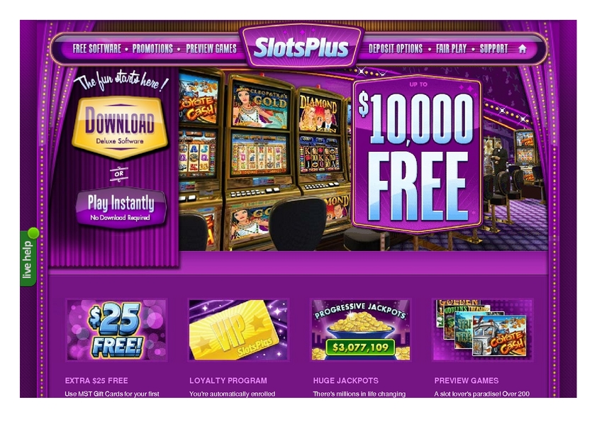 Slots Plus review on Free Slot Reviews