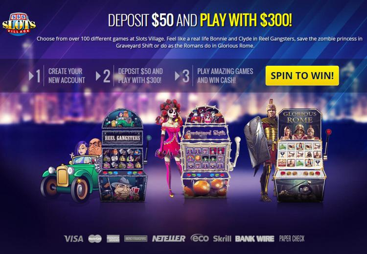 Slots Village review on Free Slot Reviews