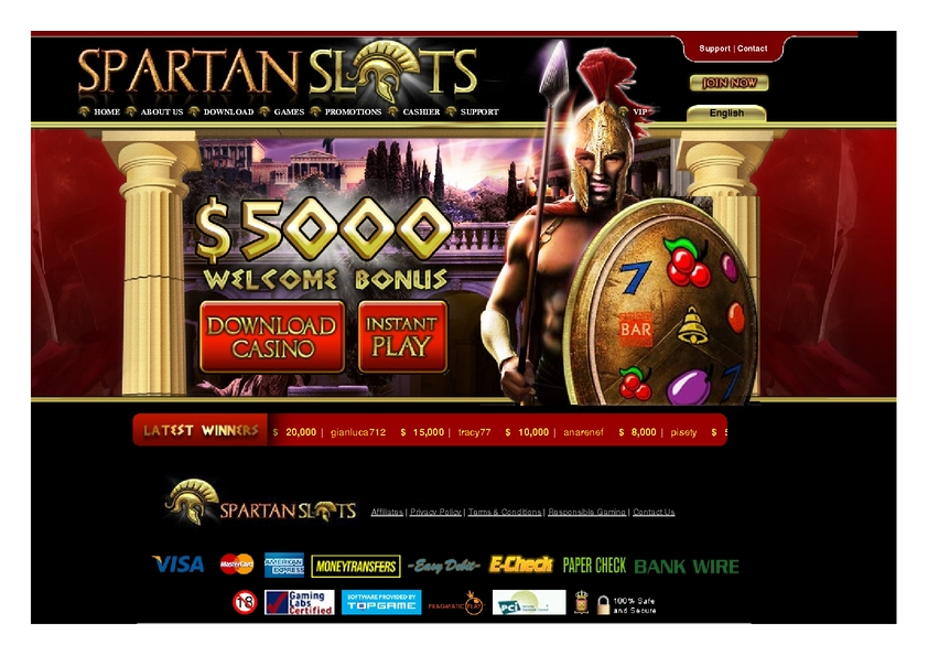Spartan Slots review on Free Slot Reviews