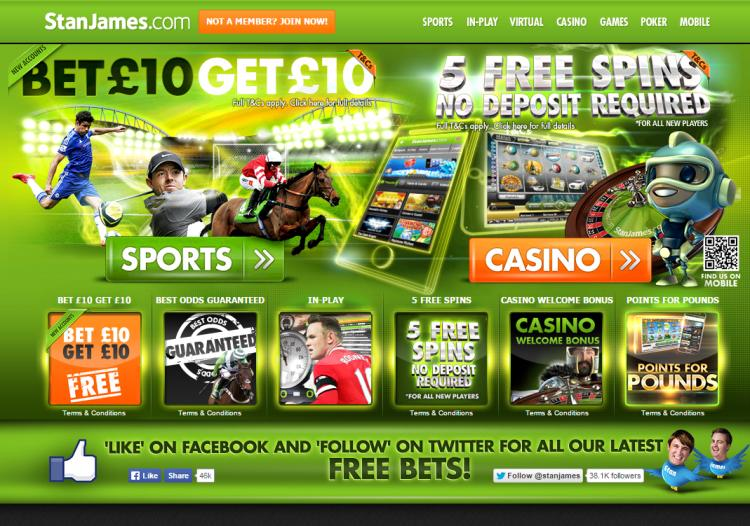 Stan James review on Free Slot Reviews