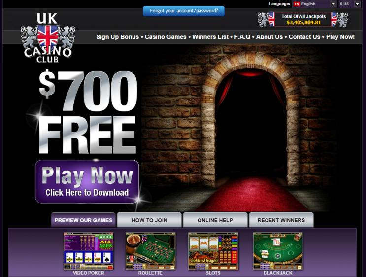 UK Casino Club review on Free Slot Reviews