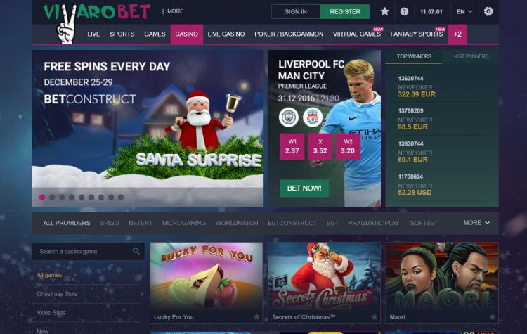Vbet Casino review on Free Slot Reviews