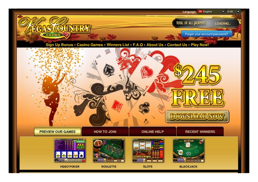 Vegas Country review on Free Slot Reviews