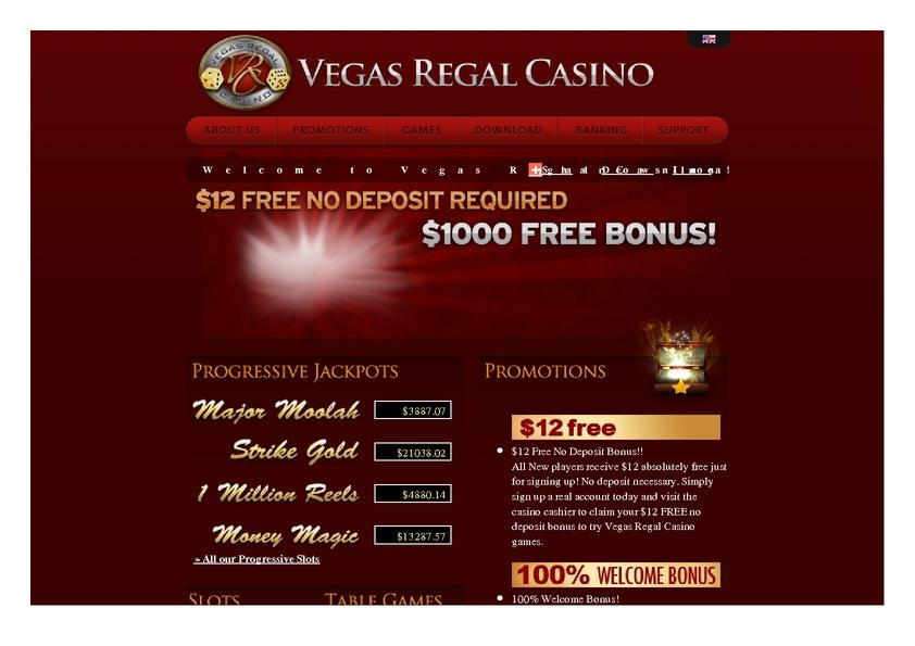 Vegas Regal review on Free Slot Reviews